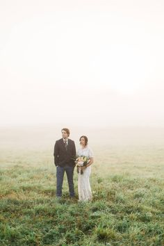 Morning Mist Intimate Elopement in Nova Scotia via Styled In Lace Morning Light, Wedding Vows, Nova Scotia, Mists, Sunrise, Weddings, Couple Photos, Couples, Lace