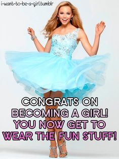 You'd be so pretty in outfits like this sweetie!  #sissy #feminization #transgender #captions