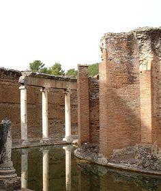 Maritime theater, Hadrian's Villa in Tivoli.