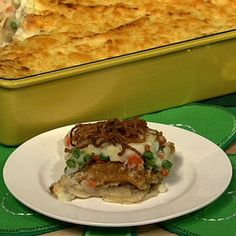 Eight Layer Shepherd's Pie-  I vow to make this! I already scoped out the aged Irish cheddar at Whole Foods for it. :)