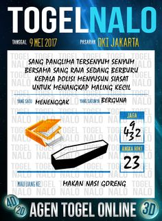 Taysen 6D Togel Wap Online TogelNalo DKI Jakarta 9 Mei 2017