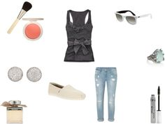"""just a throw together!"" by haleyjames15 on Polyvore"
