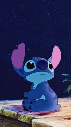 Lovely Lilo and Stitch iPhone Wallpaper