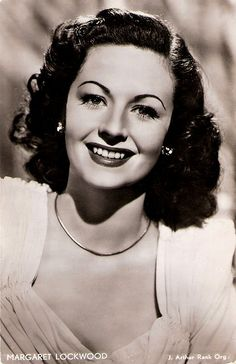 Margaret Lockwood. Beautiful stage and film actress Margaret Lockwood (1916-1990) was the female lead of the early Hitchcock classic The Lady Vanishes. In the 1940's she became Britain's leading box-office star specializing in beautiful but diabolical adventuresses.