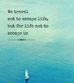 Well Id say a bit of both #travelquote by zalafendre... Instagram travelquote