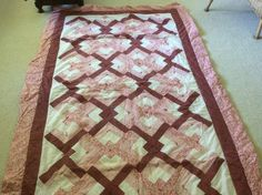 One of the first quilts I ever made. Love Knots from QIAD made by Sharon Theriault