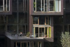 By Lundgaard & Tranberg Arkitekter :The Tietgen Dormitory project's dynamic, sculptural expression is created by the contrast of the building's overall form w Layout, Ground Floor Plan, Dormitory, Architecture Student, Copenhagen Denmark, Steel Structure, Facade, Multi Story Building, Floor Plans