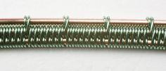 Wire-weave technique: Double-plus-one ribbon
