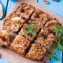 Crumbly Apple Cranberry Crisp