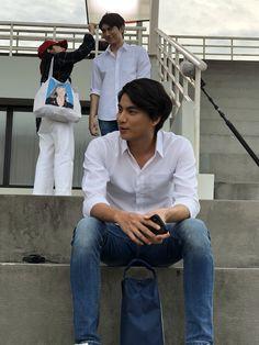 Happy New Year Everyone, Thai Drama, Handsome Actors, We Fall In Love, Drama Series, Asian Actors, Short Film, Panama Hat, Lesbian