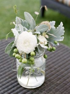 Things That Sparkle: succulent reception wedding flowers,  wedding decor, wedding flower centerpiece, wedding flower arrangement, add pic source on comment and we will update it. www.myfloweraffair.com can create this beautiful wedding flower look.