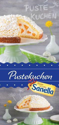 Pustekuchen Rezept   Pustekuchen sagte man bisher und meinte: Denkste. Oder von wegen. Aber ab jetzt ist der Pustekuchen auch ein sehr köstliches und bildhübsches Backrezept von Sanella.