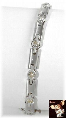 #Genuine 1.16 ctw #diamond tennis #bracelet crafted in 14k white gold,  View more on the LINK: 	http://www.zeppy.io/product/gb/2/330379224620/