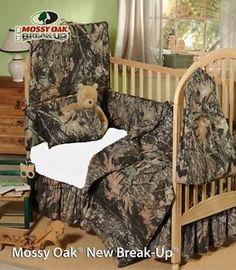 Mossy Oak Camo Infant Crib Bedding Set 5 Pcs Camouflage Baby Infant | eBay
