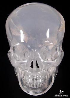 Milky Quartz Crystal Skull
