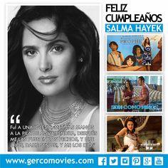 #SalmaHayek cumple 49 años y luce espectacular.