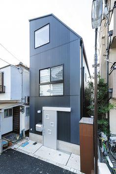 스킵 플로어 밝은 집 - 협소 주택의 시공 사례   협소 주택 전문   주식회사 BLISS [블리스]