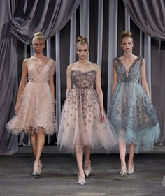 Bridesmaid Inspiration from New York Fashion Week | OMG I'm Getting Married UK Wedding Blog | UK Wedding Design and Inspiration for the fabulous and fashion forward bride to be.