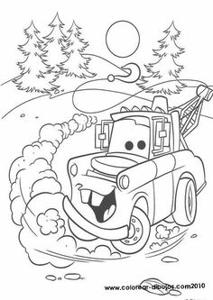 Coloring pages on pinterest christmas coloring pages for Cars halloween coloring pages