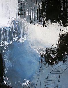1 - Kühler Morgen - Acryl-Mischtechnik auf Malkarton - 64 cm x 50 cm 008