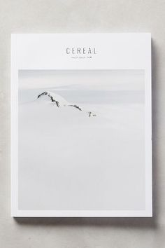 Cereal Magazine No. 8 - anthropologie.com