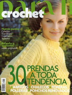 Album Archive - Clarín Crochet 2005 Nº 08 Crochet Chart, Love Crochet, Knit Crochet, Knitting Magazine, Crochet Magazine, Knitting Books, Crochet Books, Knitting Patterns, Crochet Patterns