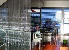 Cortinas para separar espacios y crear ambientes #decoración