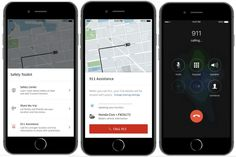 Uber adds 'panic button' to help you call 911
