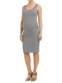 Sussan - Clothing - Maternity - Maternity Collection - Maternity stripe tank dress