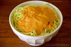 Raw Vegan Mac & Cheese - Just Glowing with Health - Raw Food Diet, Natural Recipes, and More!