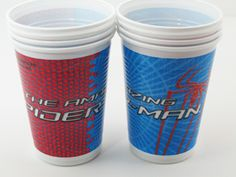 The Amazing Spiderman Party Cups