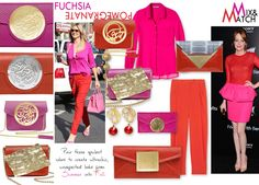 See the trends for Pomagranate and Fuscia. Did you know about the love affair between Pomegranate and Fuscia? Find out more at Dené Gallery, or shop our artist purses by Dareen Hakim at http://www.geneva-illinois-jeweler.com/#!handbags/c11g4 10% off anything Pomegranate or Fuscia