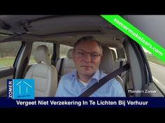 Verzekeringsmaatschappij Inlichten Bij Verhuur Woning | Zomer Makelaars ...Meer info op http://zomermakelaars.com/video-blog/verzekeringsmaatschappij-inlichten-bij-verhuur-woning