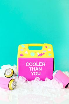 DIY Throwback Cooler Makeover | studiodiy.com