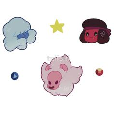 Steven Universe Crystal Gems ? by toifshi
