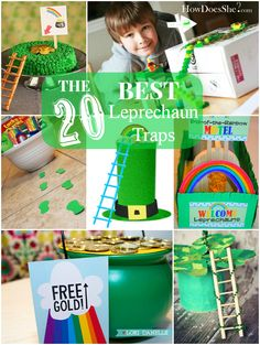 Our Thrifty Ideas | Top Leprechaun Trap ideas | http://www.ourthriftyideas.com