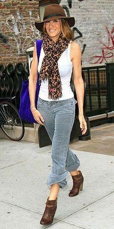 Sarah Jessica Parker street style :)