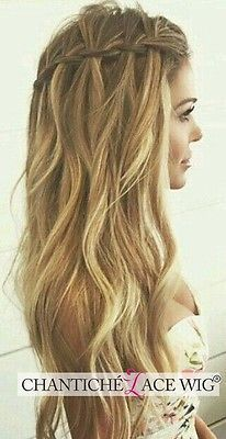 Cute Easy Summer Hairstyles For Long Hair - Hair Tutorials Braided Prom Hair, Prom Braid, Prom Updo, Fishtail Plaits, Pretty Hairstyles, Short Hairstyles, Long Haircuts, Plait Hairstyles, Latest Hairstyles