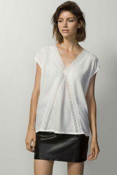 Camisetas de todos los estilos en la nueva colección otoño invierno 2015 de Massimo Dutti