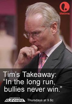 Tim Gunn's Takeaway Ep. 5 #ProjectRunway #MakeItWork: Let's hope so, Tim!