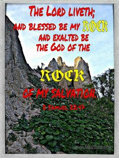 2 Samuel 22:47, Bible, verse, KJV
