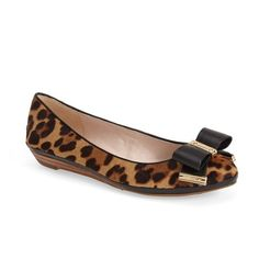 Louise et Cie 'Betsie' Bow Ballet Flat ($139) ❤ liked on Polyvore