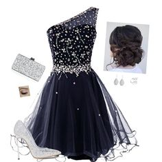 Royal Blue Homecoming Style Board Include:  One Shoulder Homecoming Dress:http://amzn.to/1KnSnLP  Casadei Pumps: http://amzn.to/1KnSrLw  Glitter Party Clutch:http://amzn.to/1KnSyXs  2015 homecoming dress homecoming dance homecoming dress homecoming party wear homecoming queen styleboard
