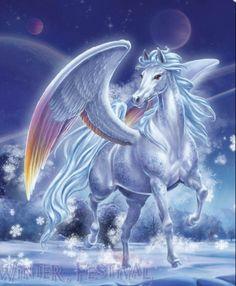 images of unicorns and pegasus Unicorn And Fairies, Unicorn Fantasy, Unicorn Art, Fantasy Art, Mythical Creatures Art, Mythological Creatures, Magical Creatures, Fantasy Creatures, Pegasus