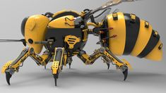 Robot Concept in 2019 Arte Robot, Robot Art, Diy Robot, Cyberpunk, Armadura Do Batman, Futuristic Robot, Futuristic Technology, Robot Animal, Armor Concept