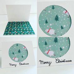 Christmas card @craftylaura