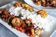 Healthy Shrimp and Vegetable Sauce