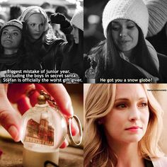 The Vampire Diaries - Stefan & Caroline: 6x10 | 8x16