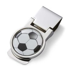 Find Soccer Ball Design Money Clip at Wholesale Favors, along with other wedding favors and personalized gifts. Soccer Wedding, Wedding Favors, Gift Wedding, Wedding Ideas, Personalised Gifts For Him, Black Gift Boxes, Sports Gifts, Groomsman Gifts, Custom Engraving
