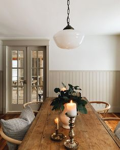 Dining Room, Kitchen Dining, Dining Table, Come Dine With Me, Places To Eat, Table Settings, Cottage, Candles, Table Decorations